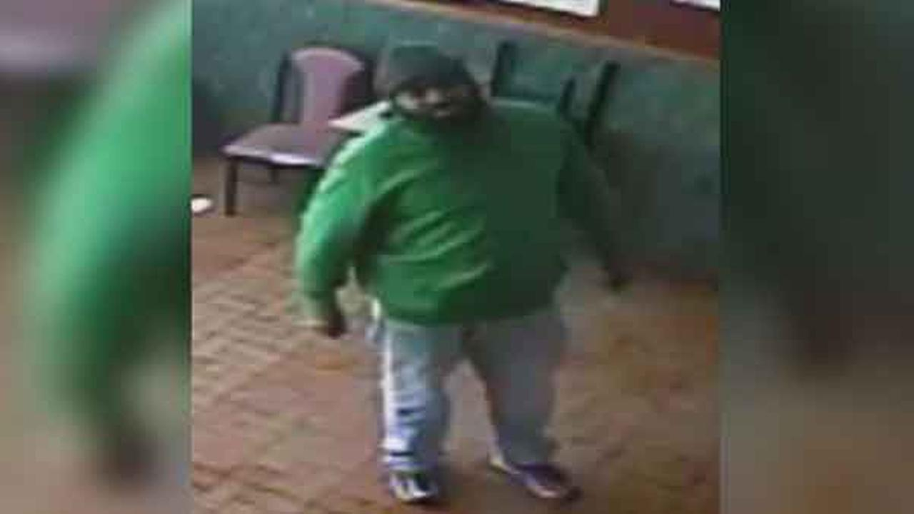 Philadelphia police are looking for a suspect who brutally attacked a customer inside a Chinese restaurant in the Hunting Park section of the city.
