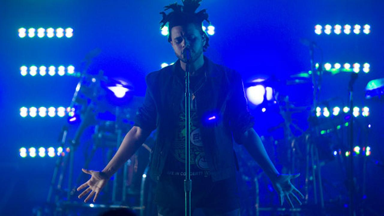 Canadian Singer/Recording Artist The Weeknd performs at Massey Hall on Thursday, Oct. 17, 2013, in Toronto, Canada.
