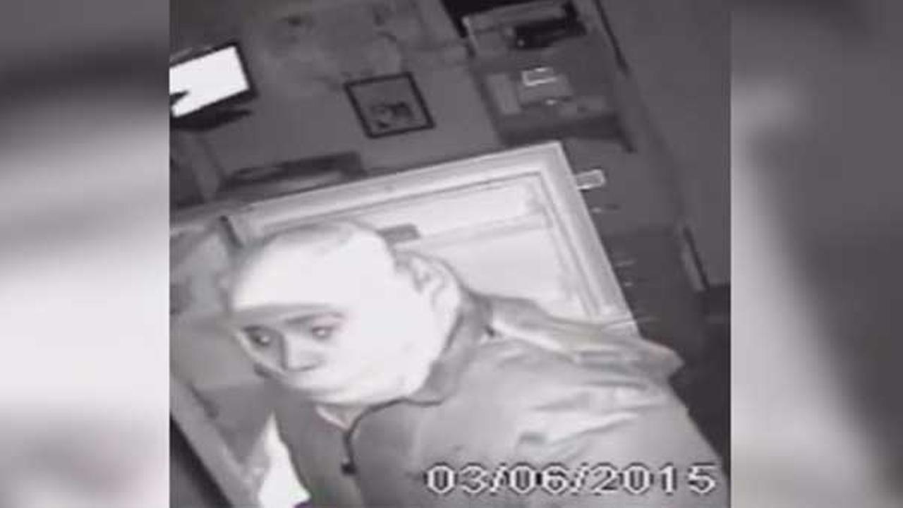 Philadelphia police are looking to identify a suspect who burglarized an auto shop in the citys Hunting Park section.