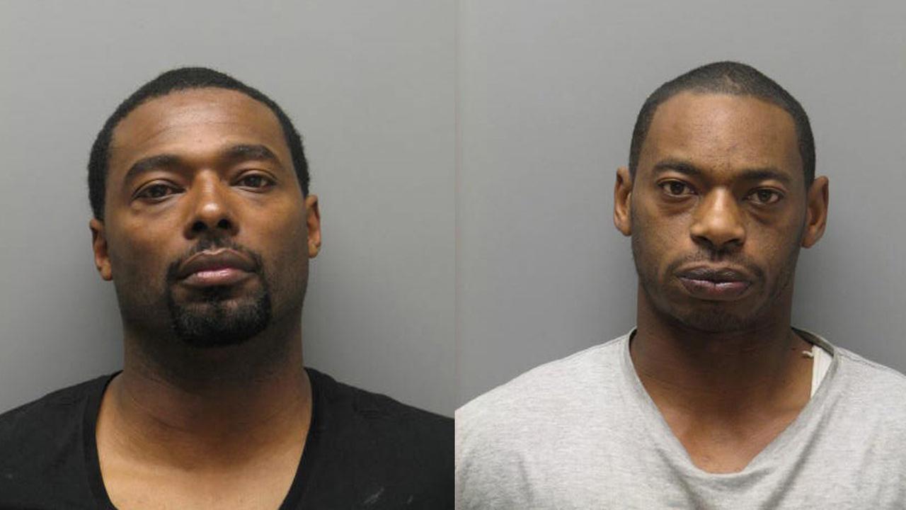 Suspects 42-year-old Jai Gotti Albert and 38-year-old Richard  Pretty Ricky Wilson
