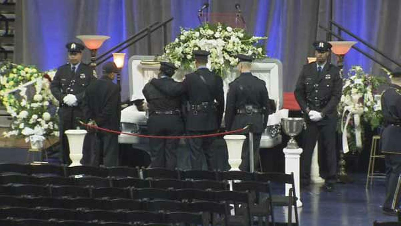 PHOTOS: Viewing, funeral for Ofc. Robert Wilson III