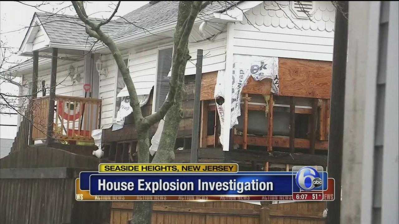 VIDEO: Possible house explosion in Seaside Heights