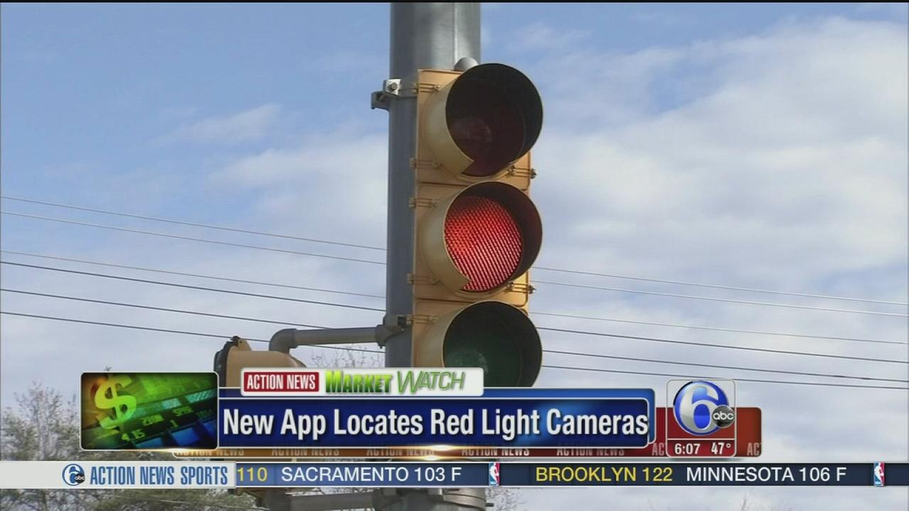 VIDEO: New app locates red light cameras
