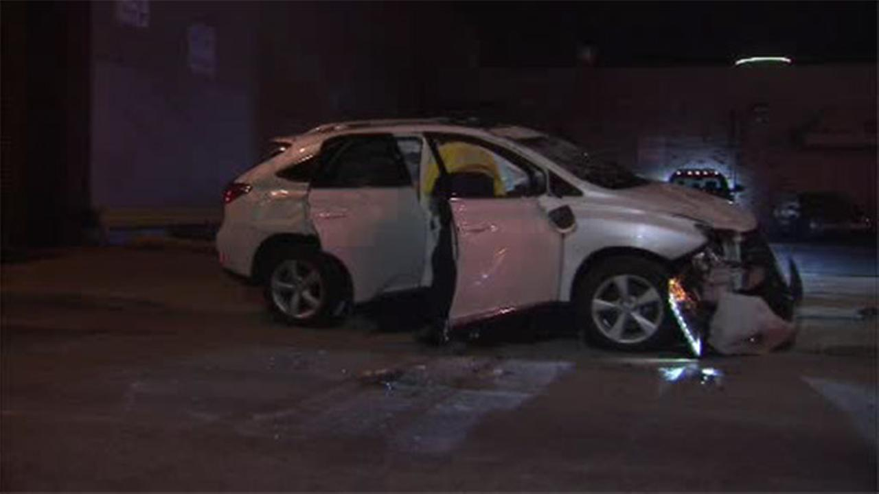 SUV crashes into parked cars in South Philly, driver tested for DUI