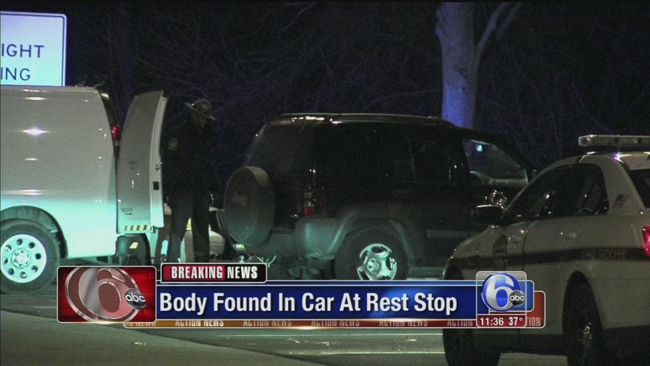 VIDEO: Man found dead at I-95 rest stop