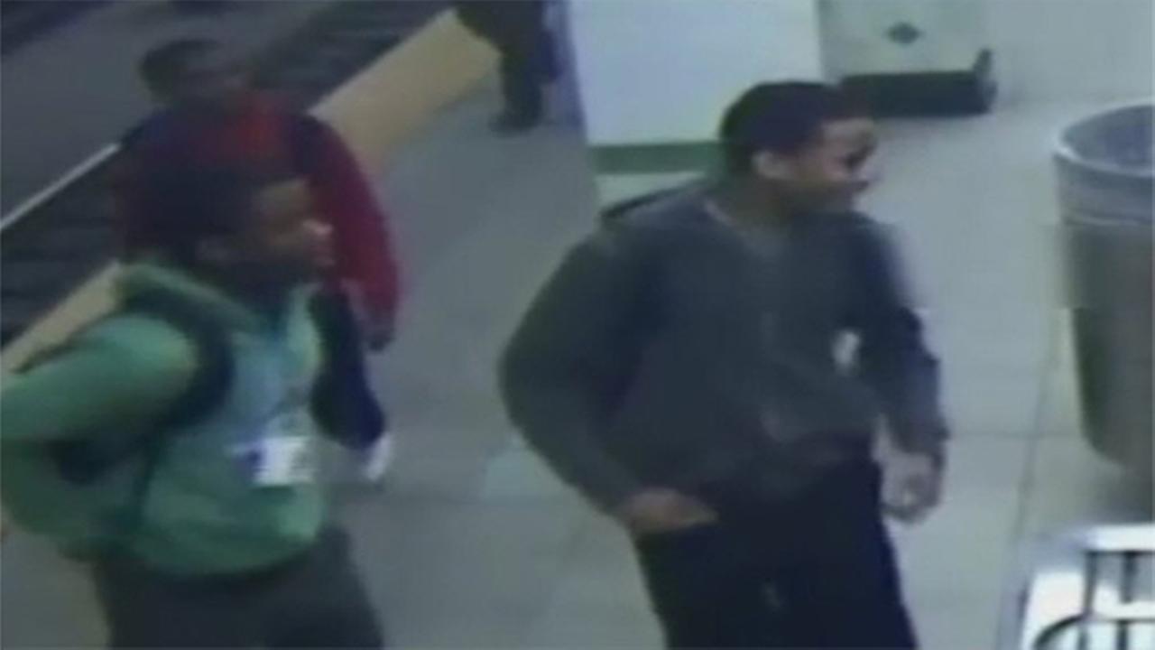 Attack on SEPTA subway platform