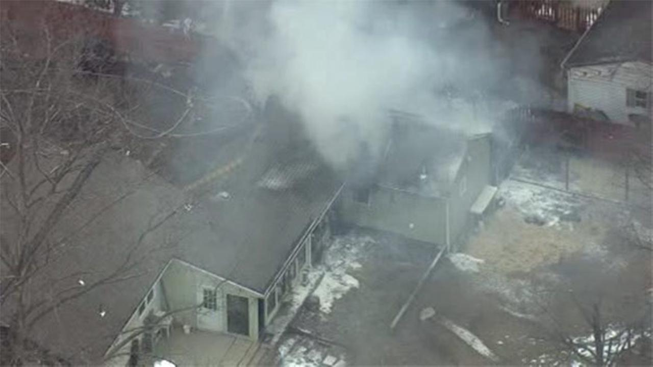 Blaze damages house in Montco