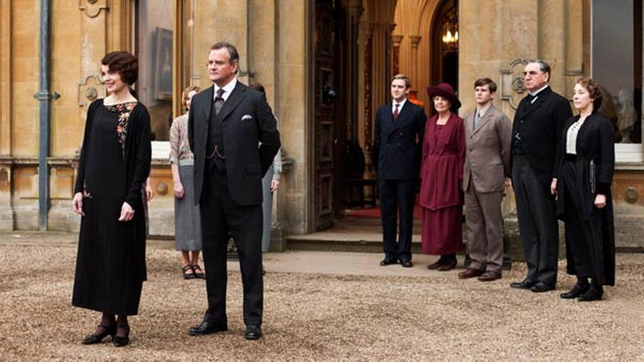 This undated publicity photo provided by PBS of Downton Abbey.