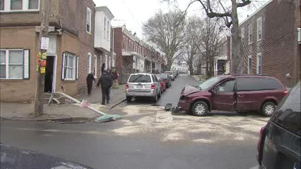 Police: Teen crashes stolen car into patrol cars, house
