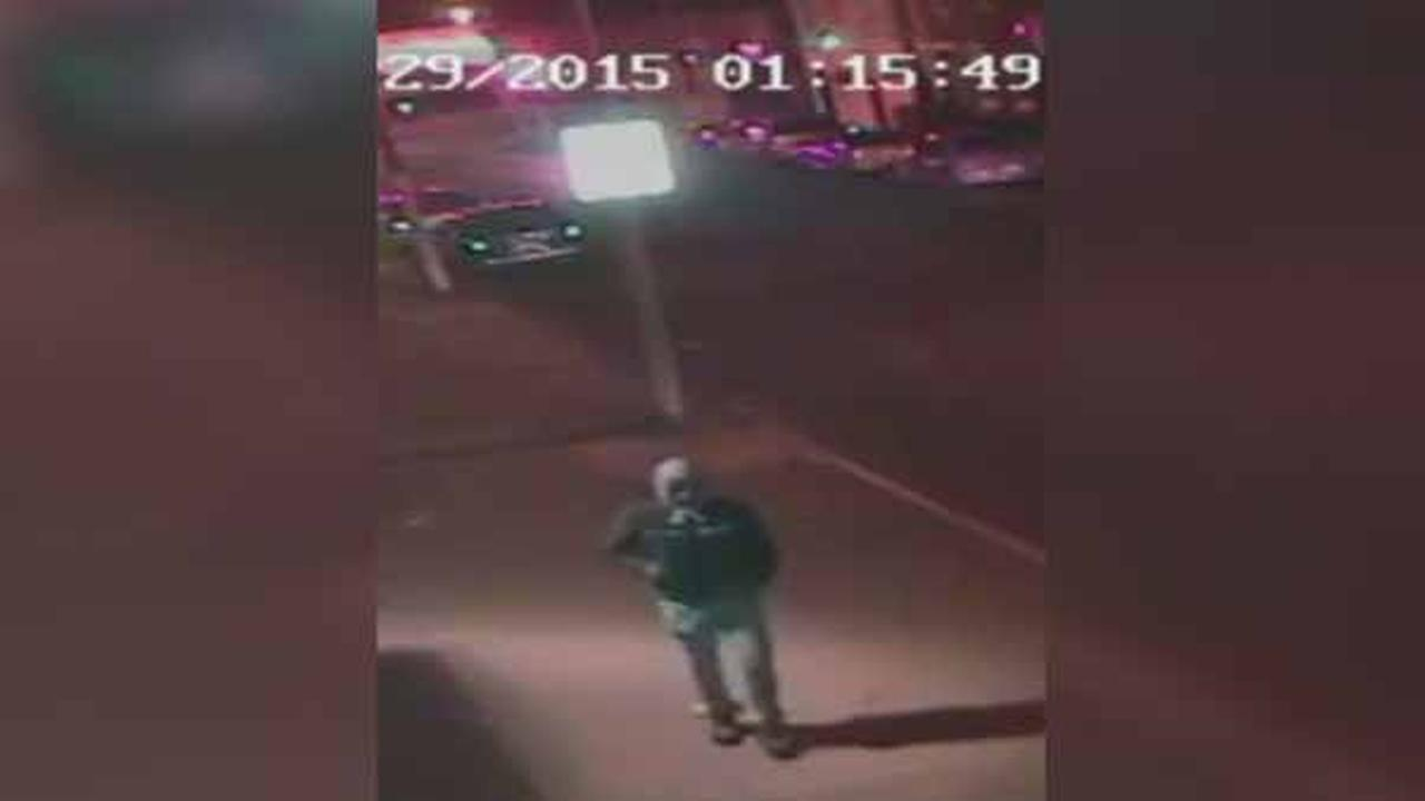 Philadelphia police are looking for a suspect who punched a woman in the face during a purse snatching in the citys Hunting Park section.