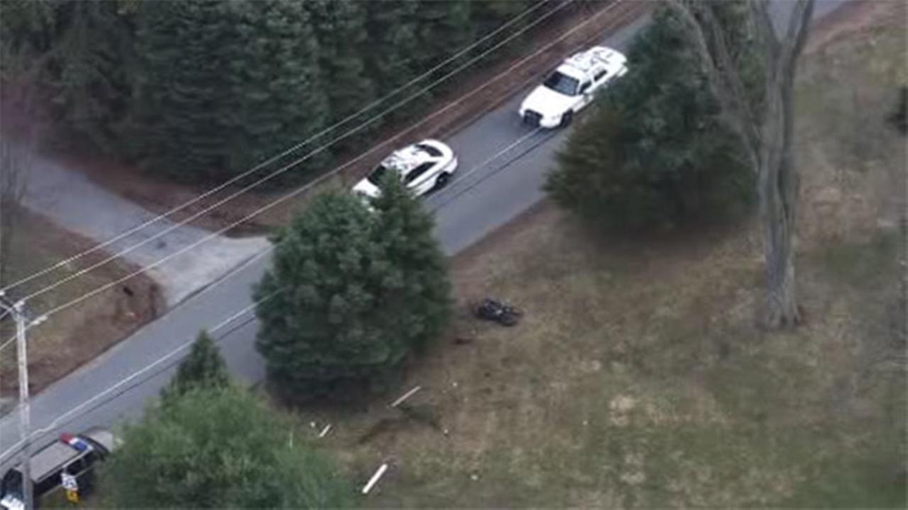 1 dead in Glen Mills motorcycle crash