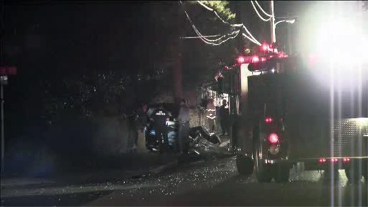 Driver killed in single-vehicle crash in Abington