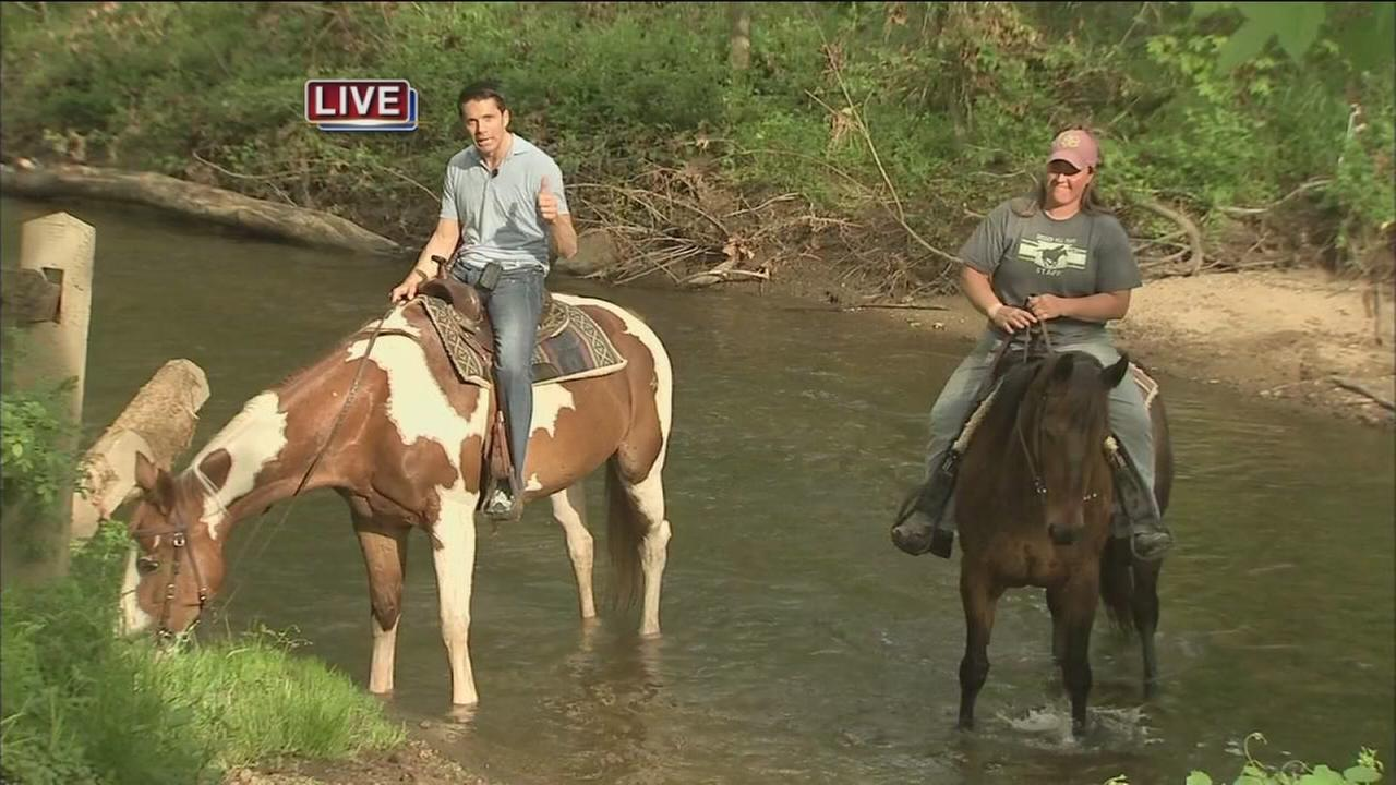 Outdoor Adventures: Adam goes horseback riding