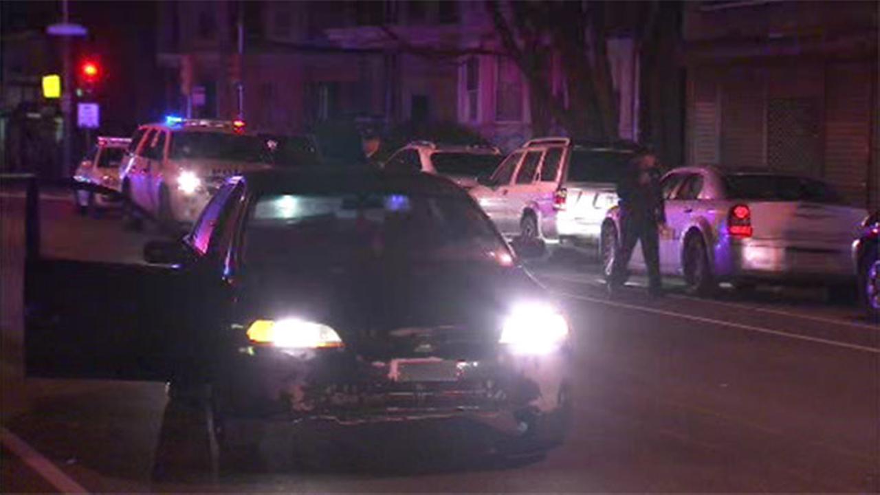 Woman struck by car in Olney, driver in custody