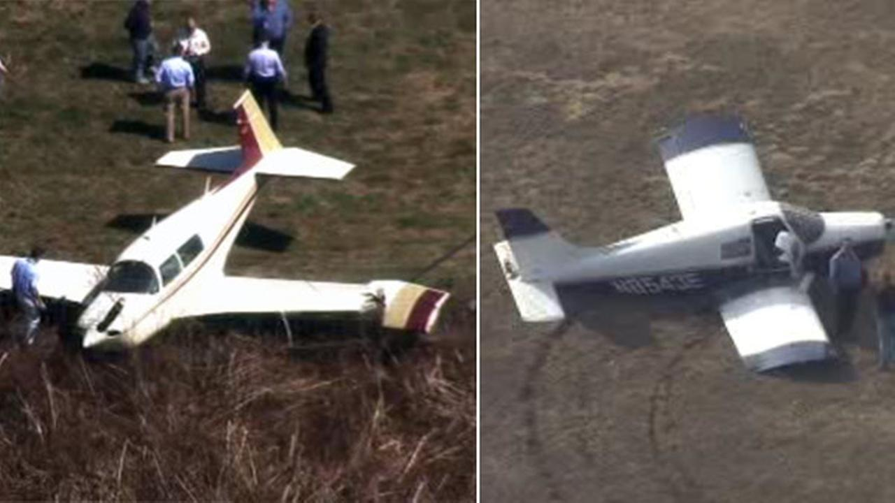 Planes encounter problems at 2 Allentown airports