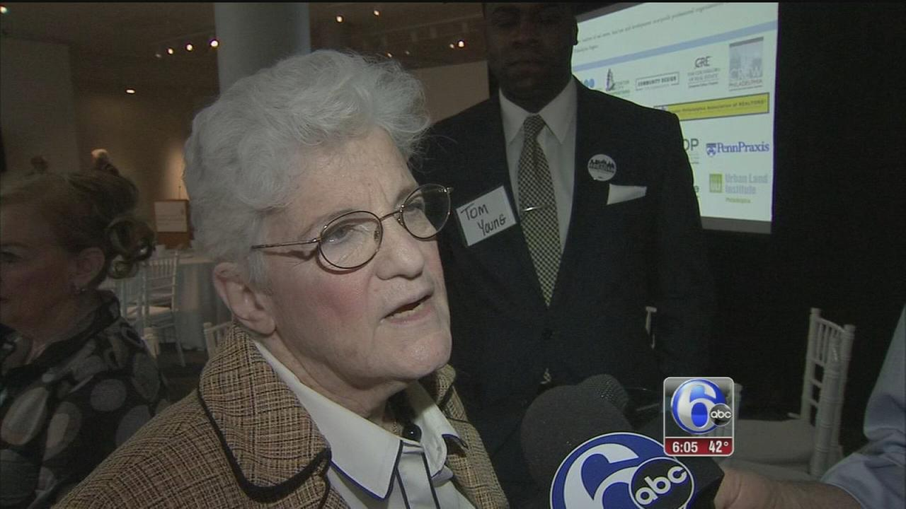 VIDEO: Lynne Abraham back on campaign trail after fainting