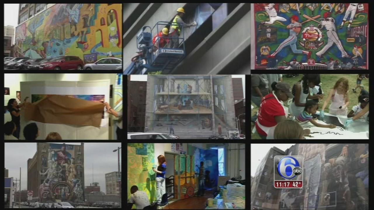 VIDEO: Mural Arts in Philly changing lives of children, ex-cons