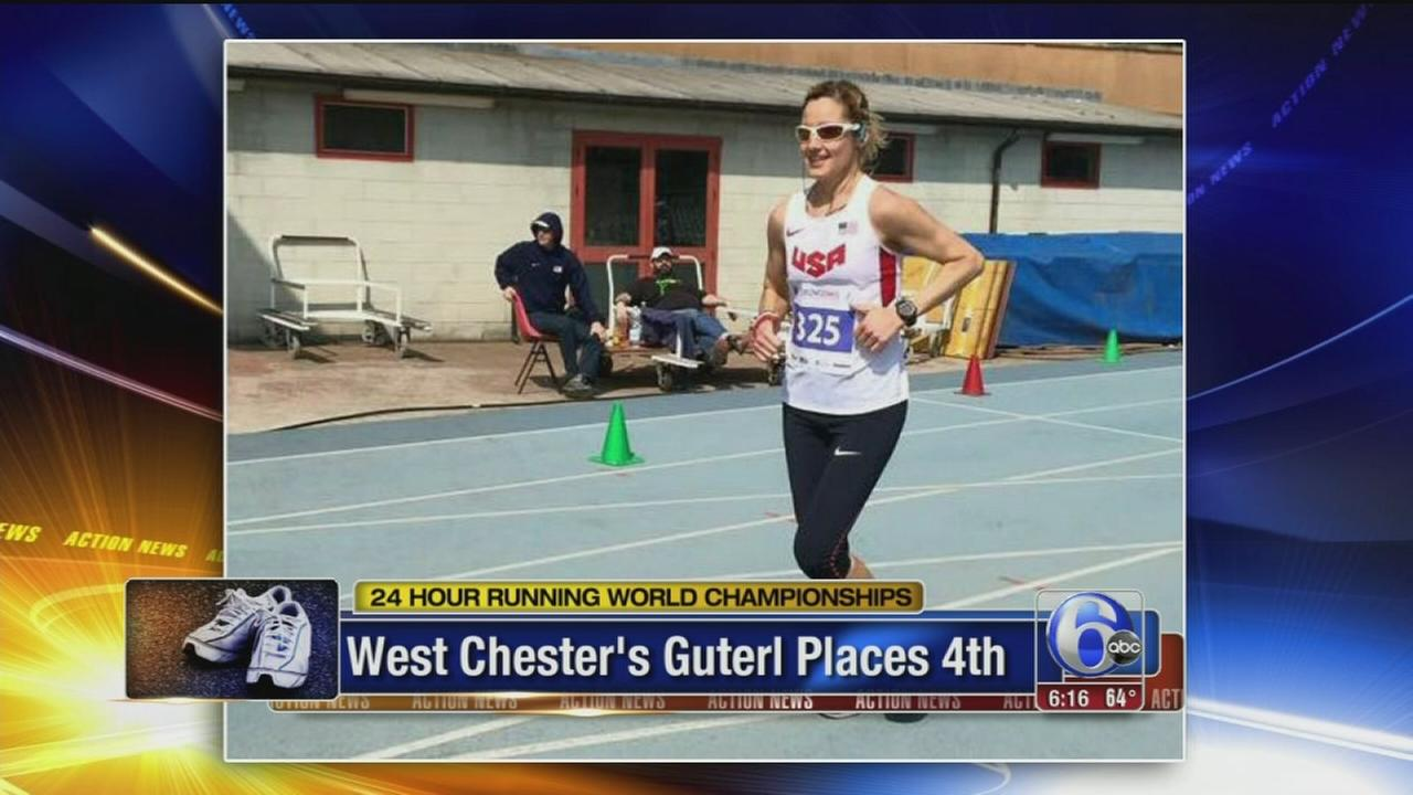 VIDEO: West Chester woman places 4th in 24-hour race