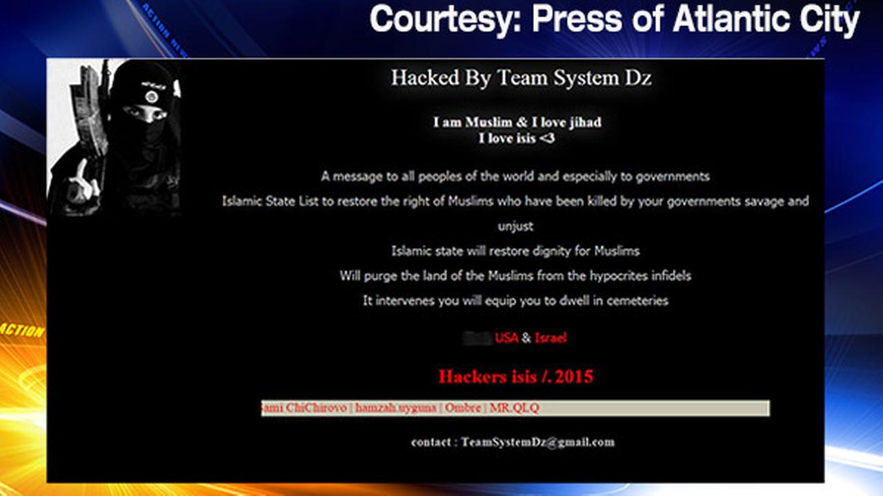 Atlantic City casino authority website hacked with pro-ISIS messages