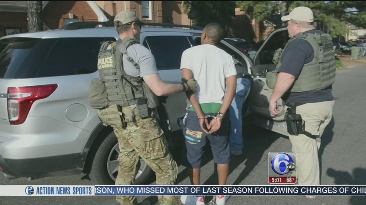 VIDEO: Fugitive roundup nabs violent offenders in Camden