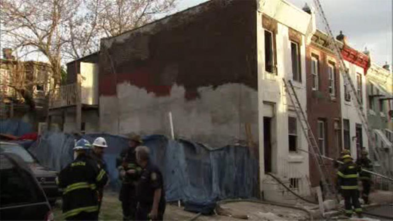 1 injured in North Philadelphia house fire