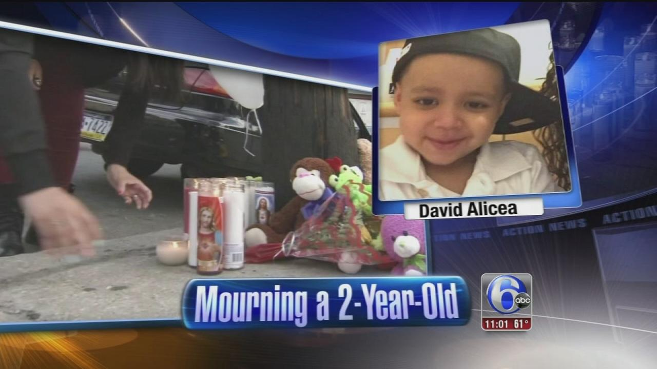 VIDEO: Vigil held for toddler killed in W. Kensington hit-and-run