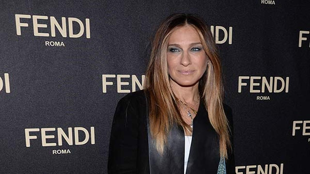 Sarah Jessica Parker attends Fendis New York Flagship Boutique opening celebration on Friday, Feb. 13, 2015, in New York.