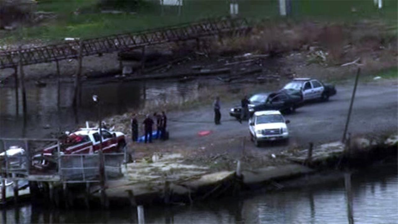 Body found on island in Delaware River