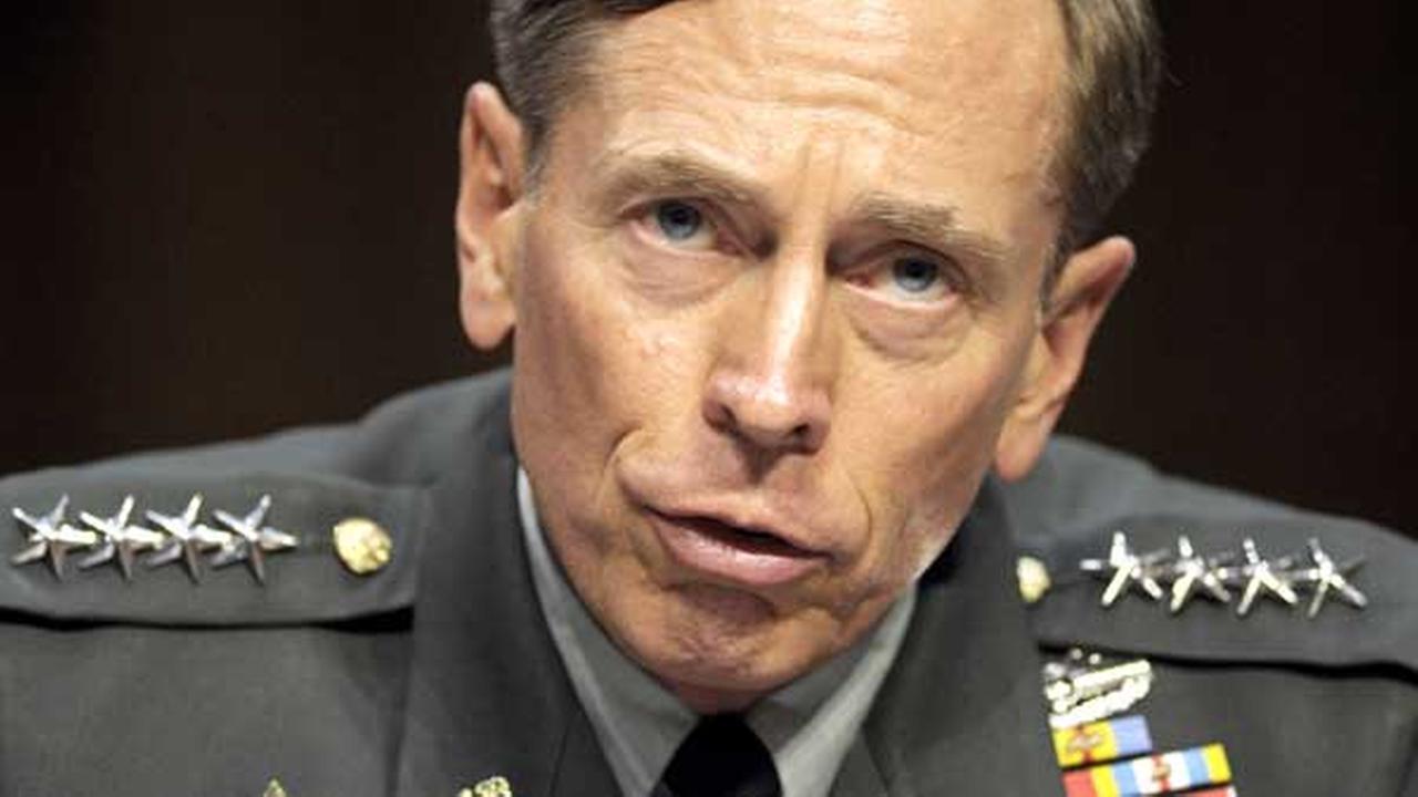 FILE - In this June 23, 2011 file photo, then-CIA Director-desigate Gen. David Petraeus testifies on Capitol Hill in Washington.
