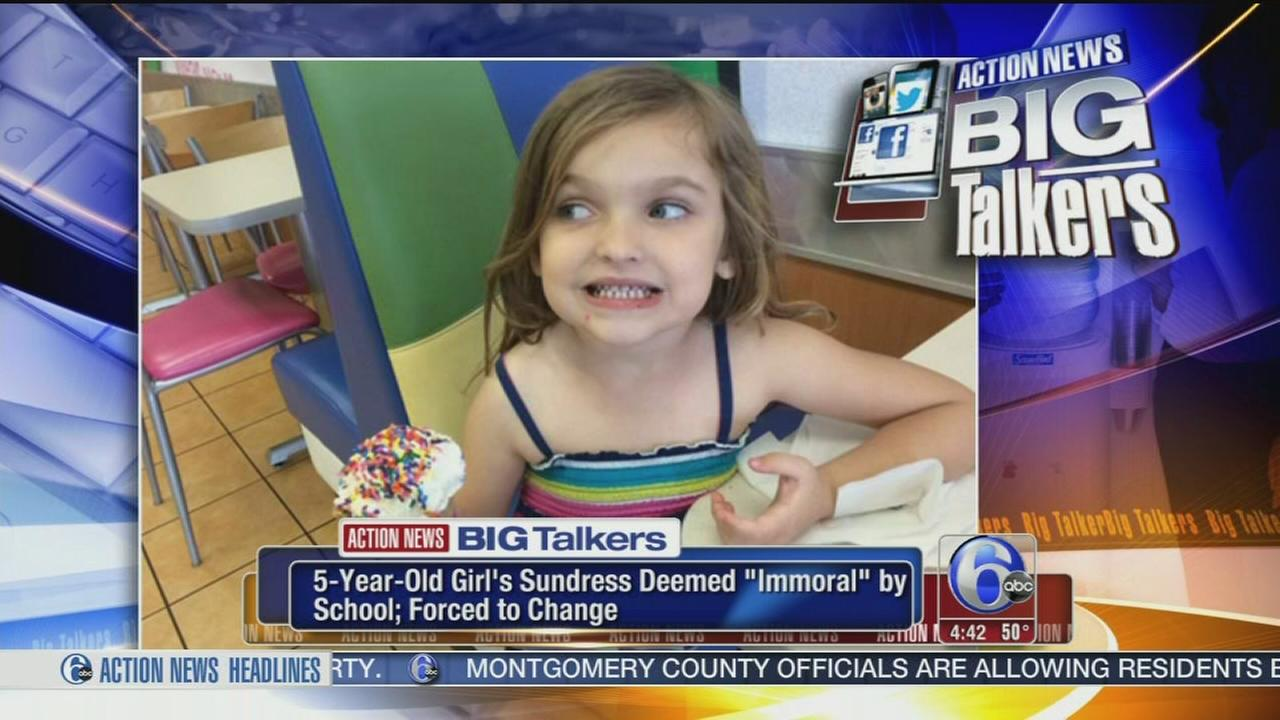 VIDEO: Daughter dress code