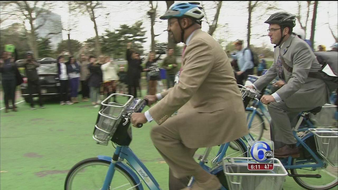 VIDEO: Philly launches Indego bike share program