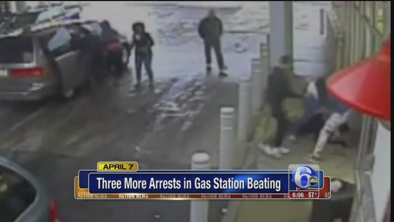 VIDEO: More arrests in attack on homeless man at gas station