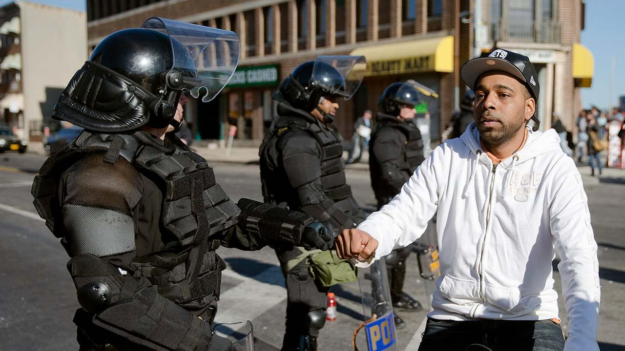 Unrest in Baltimore after Freddie Gray funeral
