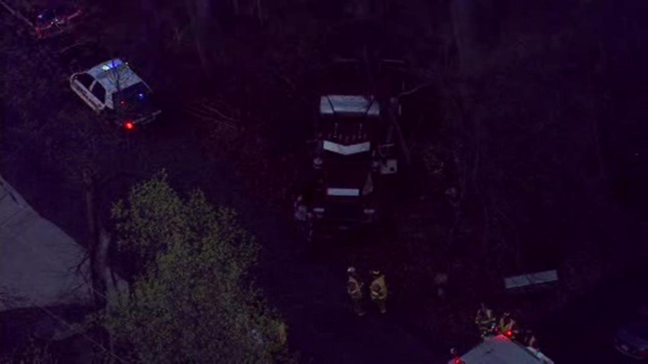 Driver injured after truck crash in Bucks County