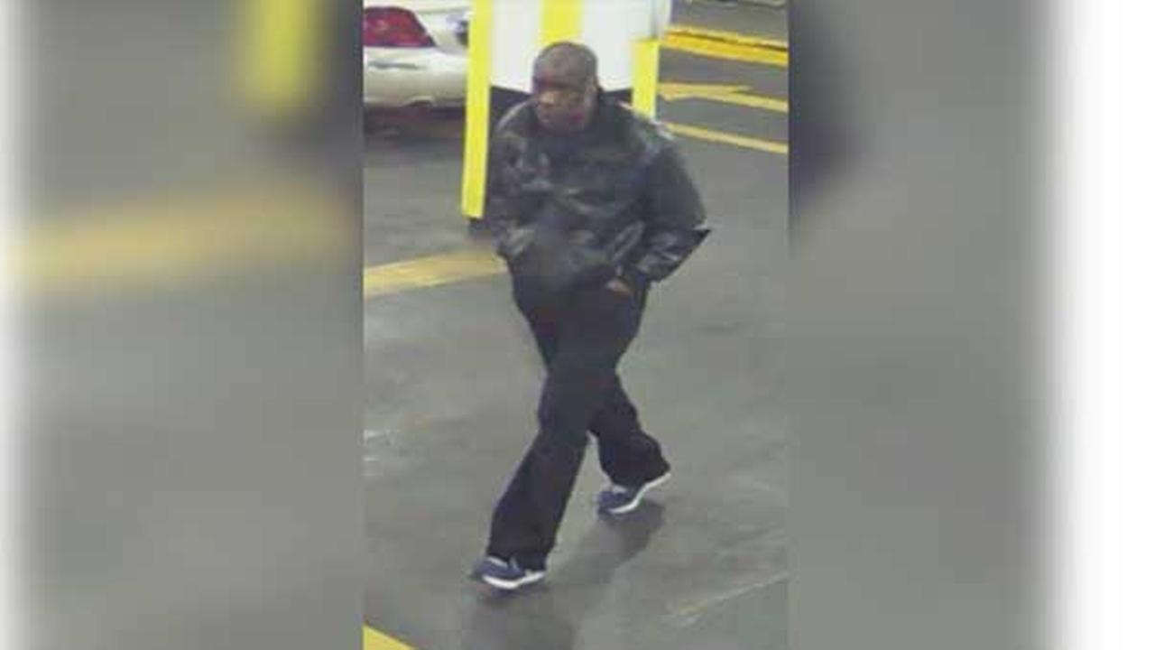 Philadelphia police are looking for a thief who stole two cars from inside a parking garage in Center City.