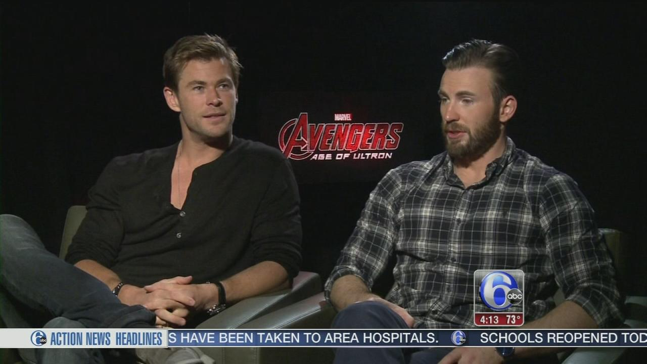 VIDEO: Alicia speaks with the Avengers