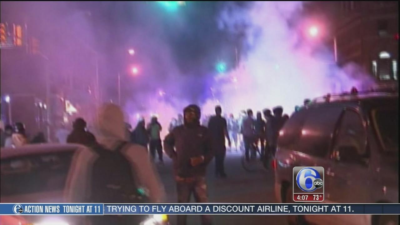 VIDEO: Baltimore tensions easing