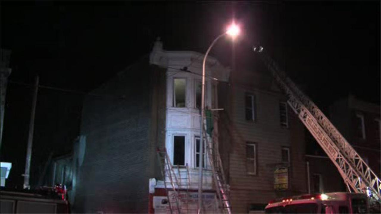 House damaged by flames in Tioga-Nicetown