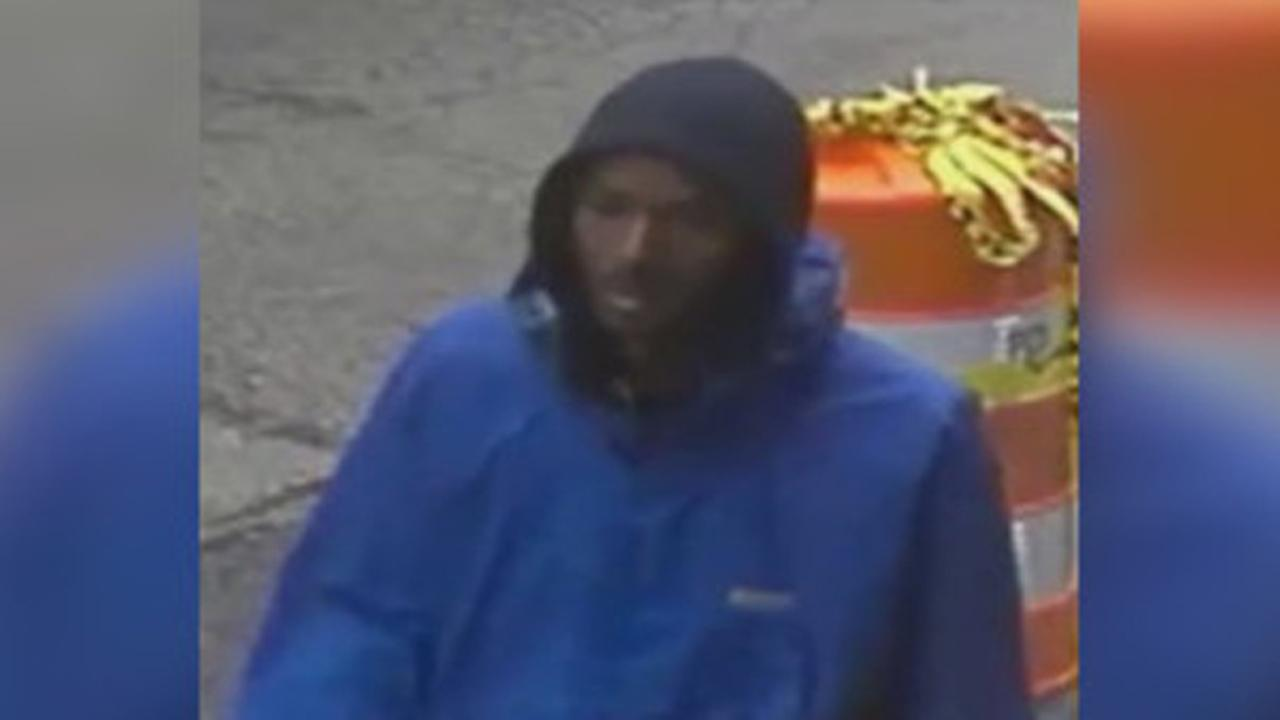 Suspect sought in theft from car in South Philadelphia