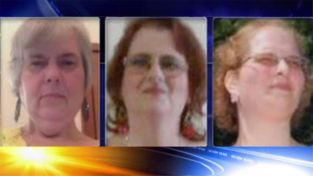 Pictured (left to right): Rolanda Rimel, Sally Rimel, Angel Rimel