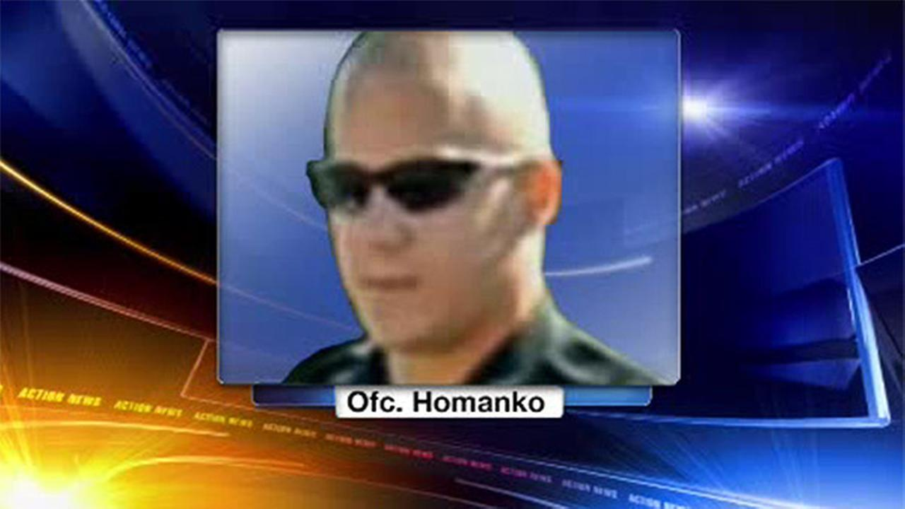 Pa. officer charged with homicide in high-speed chase crash
