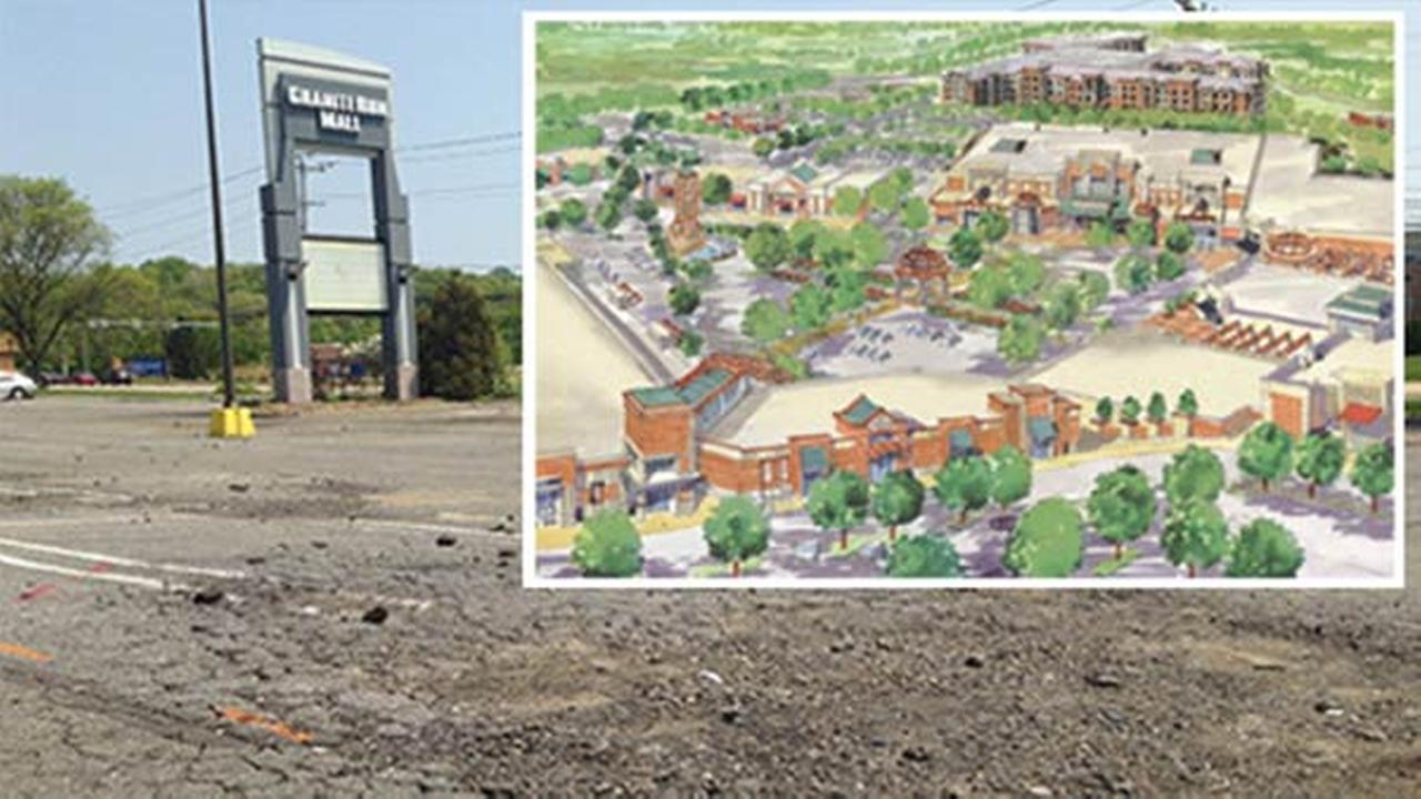Granite Run Mall: From empty, to movie set, to upgrade?