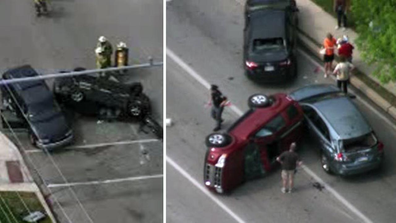 Multiple vehicles involved in King of Prussia crash