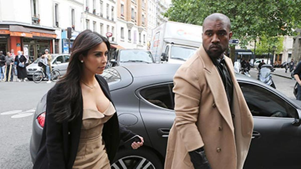 Kim, Kanye and Kardashian crowd converge on Paris