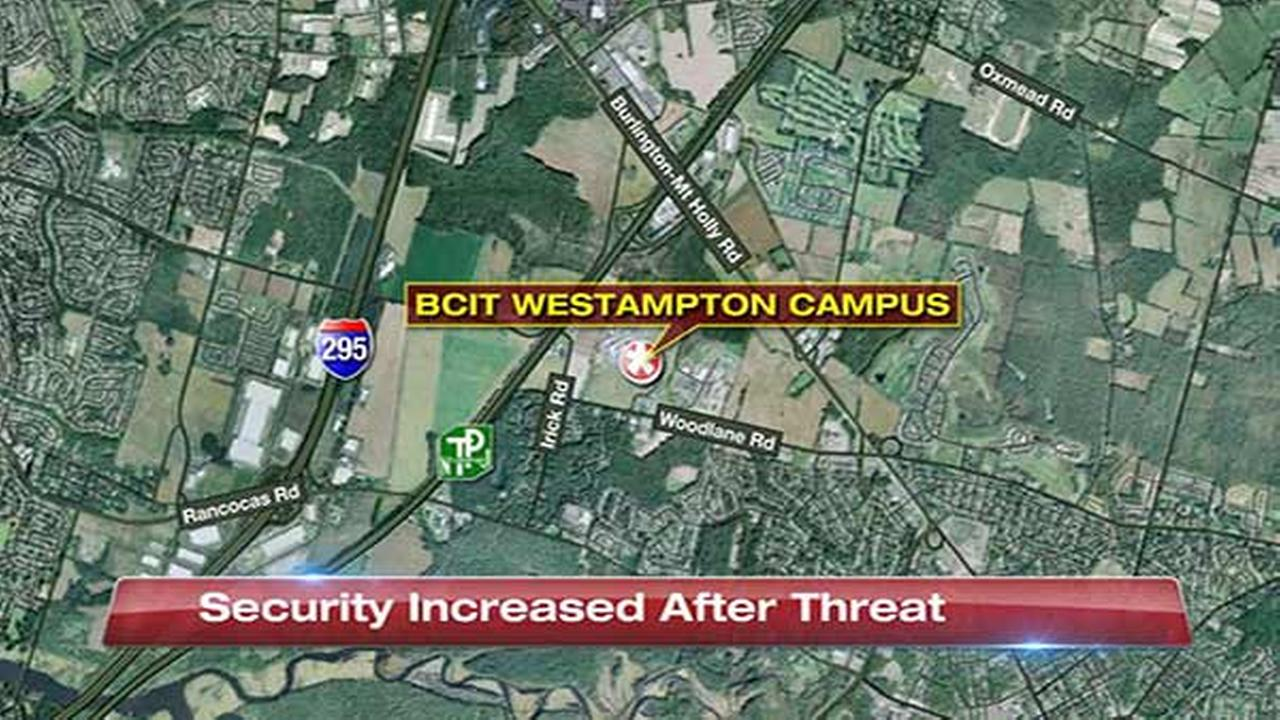 Threat prompts heightened security at Burlington Co. school
