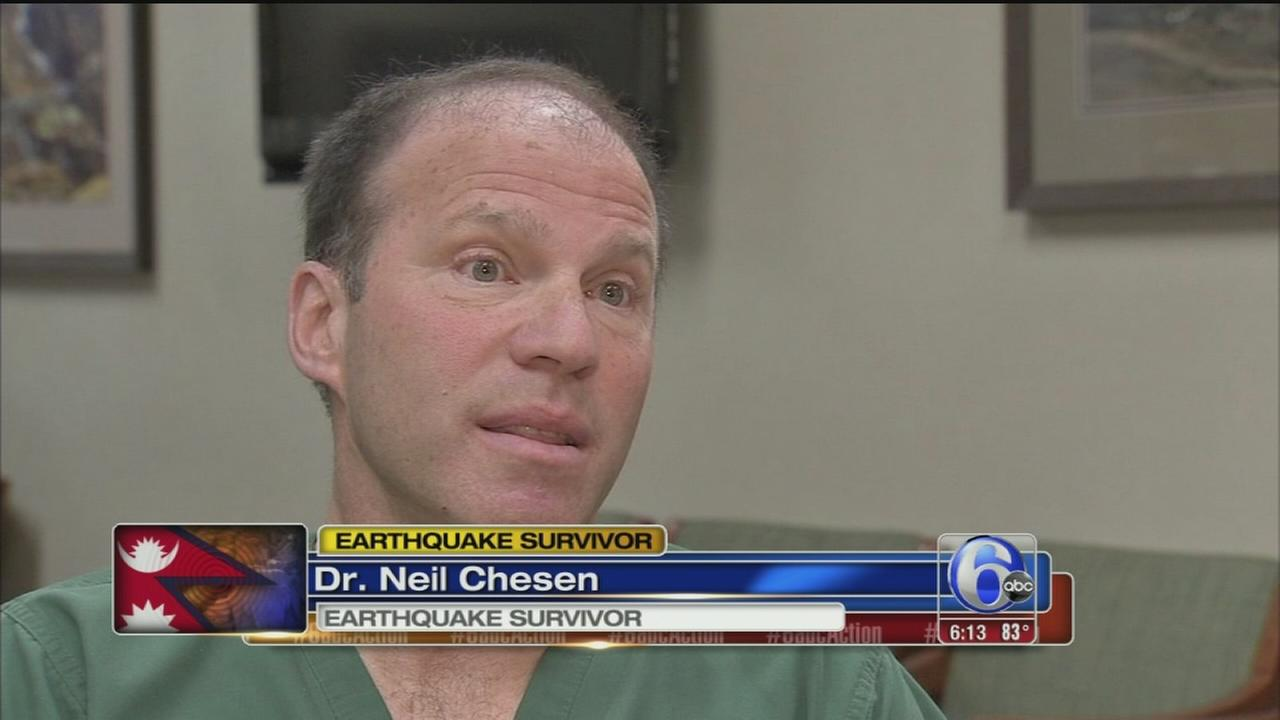 VIDEO: American doctor returns from Nepal