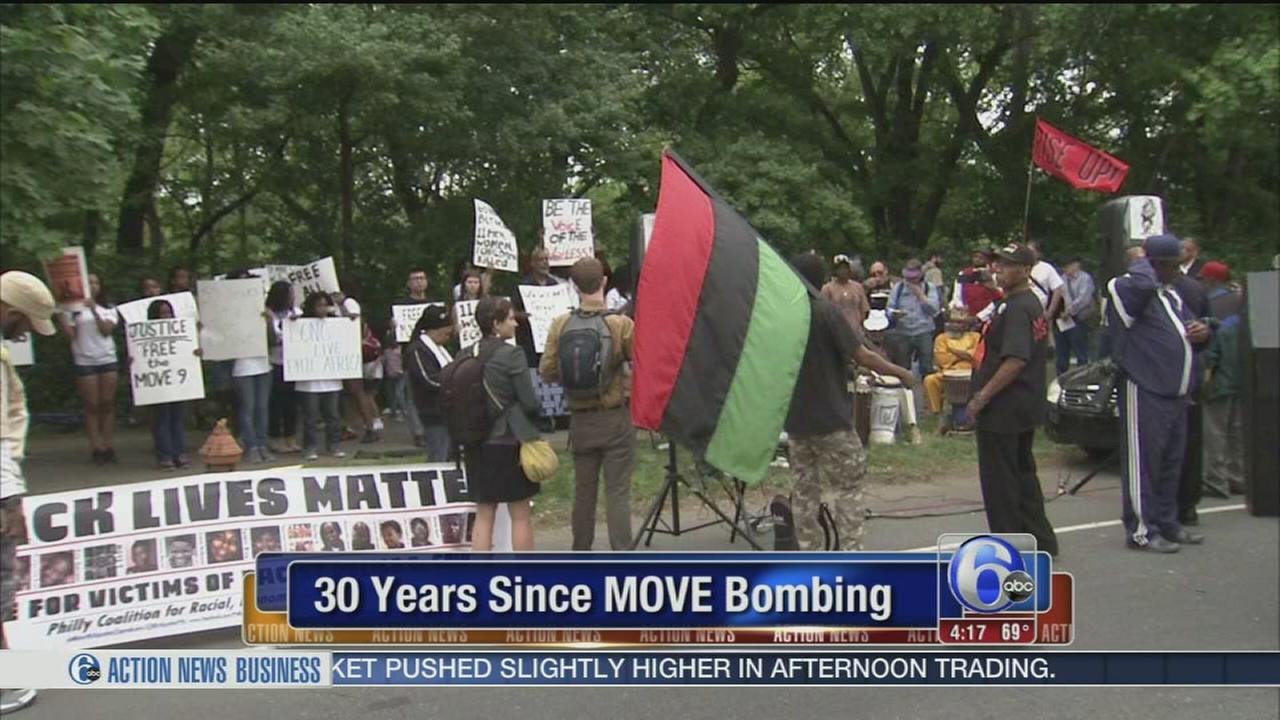VIDEO: MOVE bombing