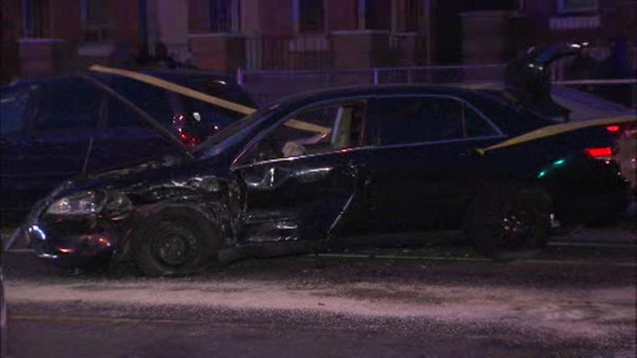 A suspected drunk driver crashed into several cars in North Philadelphia.