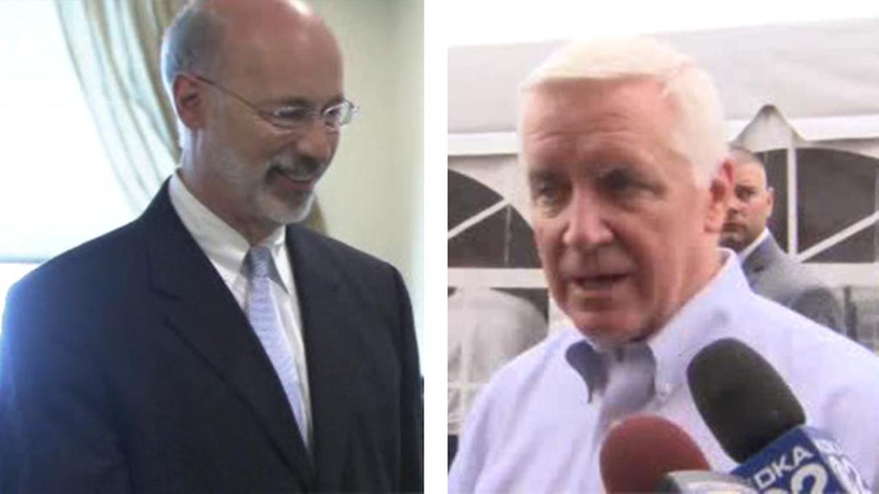 Candidates for Pa. governors race set