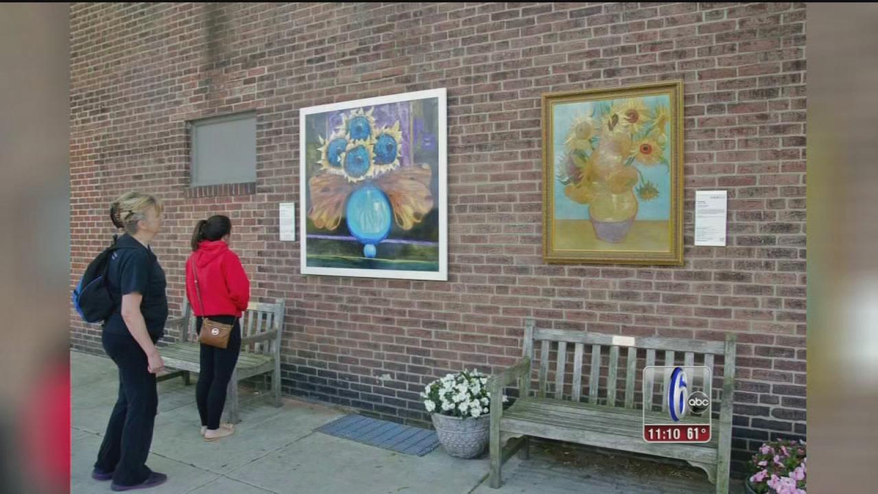VIDEO: Phila. Museum of Art brings artwork inside out